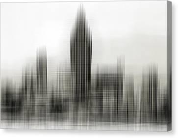 Abstract Skyline Canvas Print by Pedro Fernandez