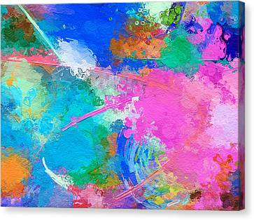 Abstract Space 2 Canvas Print