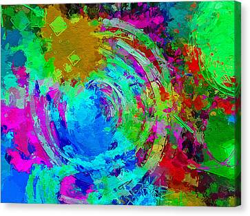Abstract Space 3 Canvas Print by Yury Malkov