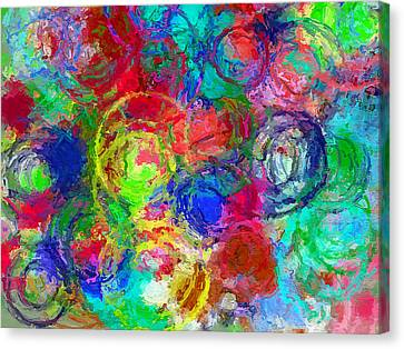 Abstract Space 4 Canvas Print by Yury Malkov