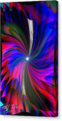 Abstract - Spinner Canvas Print by Michael Rucker