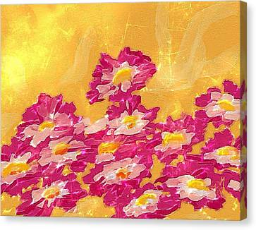 Abstract Spring Canvas Print by Veronica Minozzi