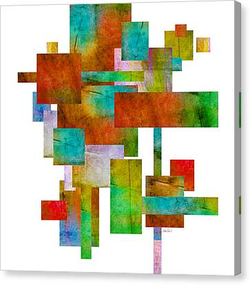Abstract Study 21 Abstract -art Canvas Print by Ann Powell