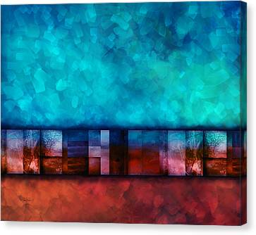 Abstract Study Seven Canvas Print by Ann Powell