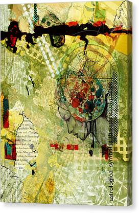 Abstract Tarot Art 009 Canvas Print by Corporate Art Task Force