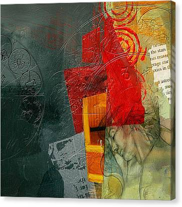 Abstract Tarot Card 004 Canvas Print