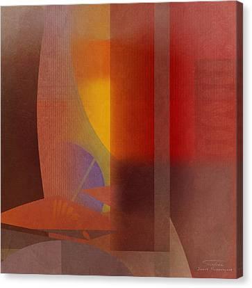 Abstract Tisa Schlemm 04 Canvas Print by Joost Hogervorst