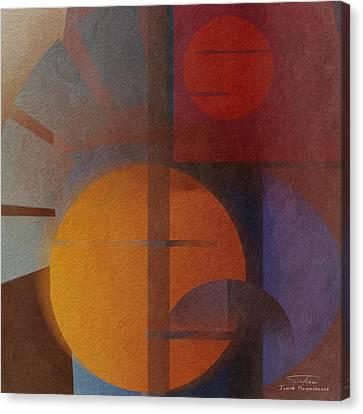 Abstract Tisa Schlemm 05 Canvas Print by Joost Hogervorst