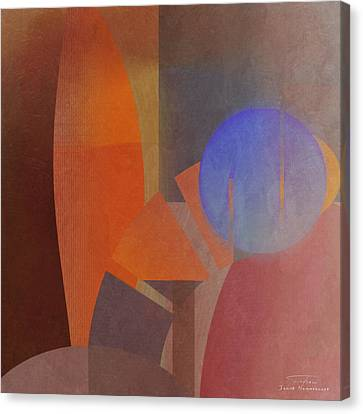 Abstract Tisa Schlemm 06 Canvas Print by Joost Hogervorst