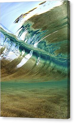 Abstract Underwater 2 Canvas Print