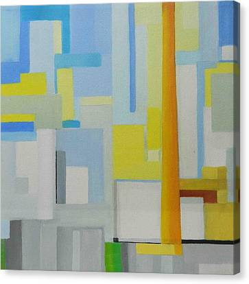 Abstract Western Sugar Canvas Print