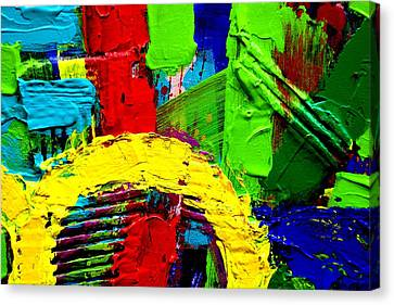 Abstracted I Canvas Print by John  Nolan