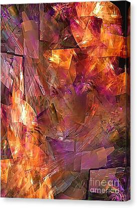 Abstraction  0273 Marucii Canvas Print by Marek Lutek