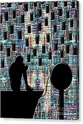 Abstraction 104 Canvas Print by Patrick J Murphy