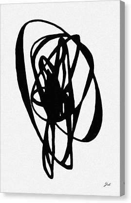 Astratto - Abstract 19 Canvas Print by Ze  Di