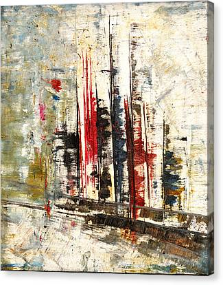 Abstraction-2 Canvas Print by Anand Swaroop Manchiraju