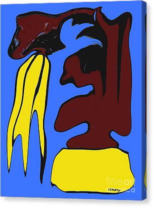 Abstraction 229 Canvas Print by Patrick J Murphy