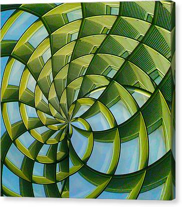 Canvas Print featuring the photograph Abstraction A La M. C. Escher by Gary Holmes