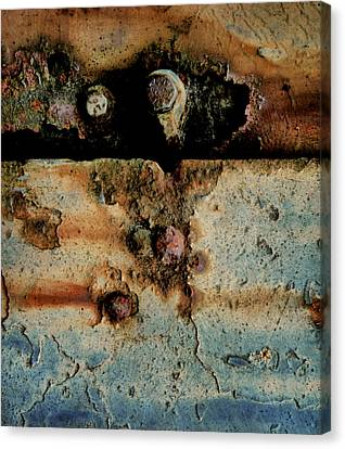 Abstraction Gap Abstraction Canvas Print by Odd Jeppesen