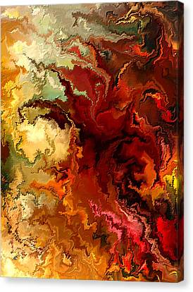 Abstraction Surrealist By Rafi Talby Canvas Print by Rafi Talby