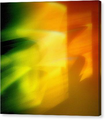 Sorbet Canvas Print - Abstraction by Tom Druin