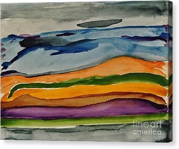 Abstractscape Canvas Print by Marsha Heiken