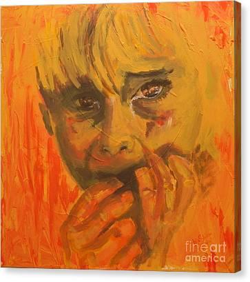Abused  Canvas Print by Jolanta Shiloni