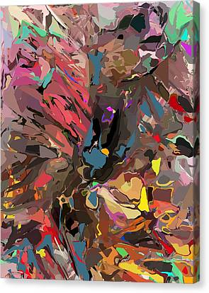 Canvas Print featuring the digital art Abyss 2 by David Lane