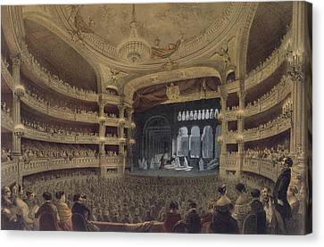 Academie Imperiale De Musique Paris Canvas Print