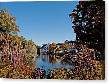Academy Mill Or ... Canvas Print by Torbjorn Swenelius