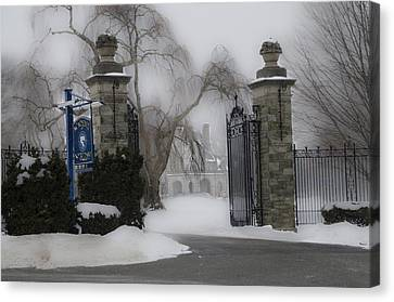 Radnor Canvas Print - Academy Of Notre Dame - School For Girls by Bill Cannon