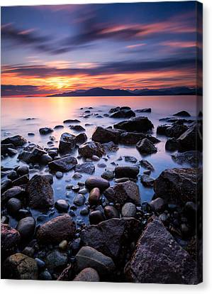 Acadia Beach Canvas Print