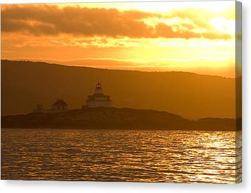 Acadia Lighthouse  Canvas Print by Sebastian Musial