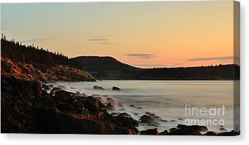 Acadia Morning Canvas Print