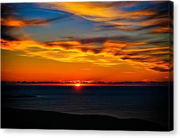 Acadia Sunrise Canvas Print