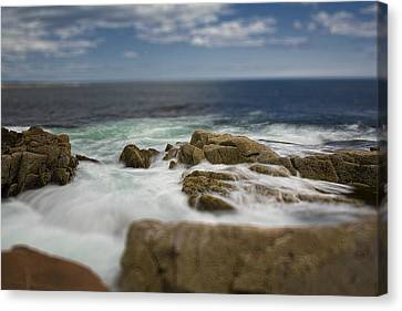 Acadia Surf II Canvas Print by Bob Retnauer