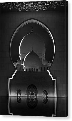 Cupola Canvas Print - Access To Heavens by Ahmed Thabet