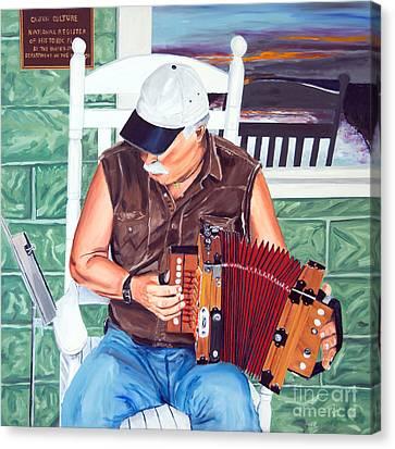 Accorance Man Canvas Print by Jock McGregor