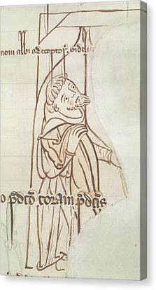 Account-book Of Beaulieu Abbey Canvas Print