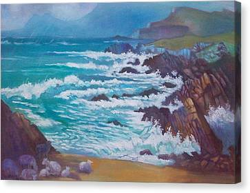 Achill Ireland Canvas Print by Paul Weerasekera
