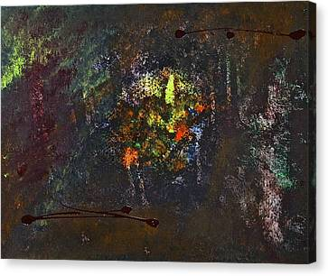 Canvas Print featuring the painting Acid Burn by Tracey Myers