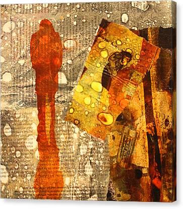 Contrast Canvas Print - Acid Rain by Nancy Merkle