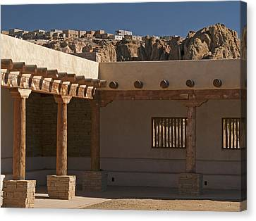Acoma Old And New Canvas Print