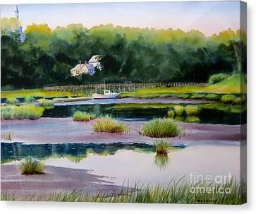 Across Duck Creek Canvas Print