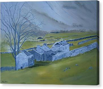 Across The Dales Canvas Print by Andy Davis