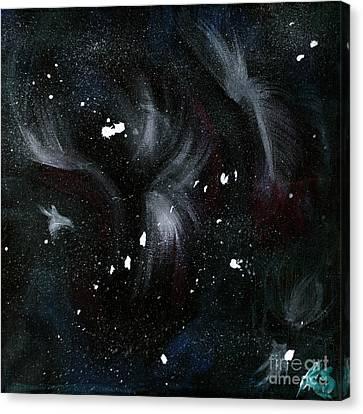 Across The Universe  Canvas Print by Katy  Scott