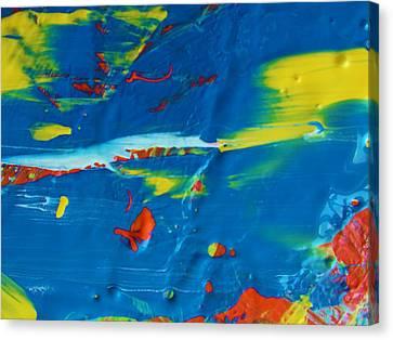Acrylic Seas Canvas Print by Artist Ai