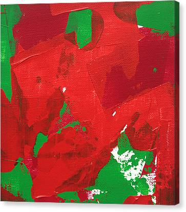Canvas Print featuring the painting Active 2013 by Paul Ashby