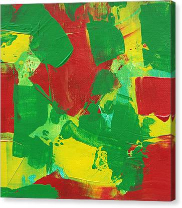Canvas Print featuring the painting Active Pursuit C2013 by Paul Ashby