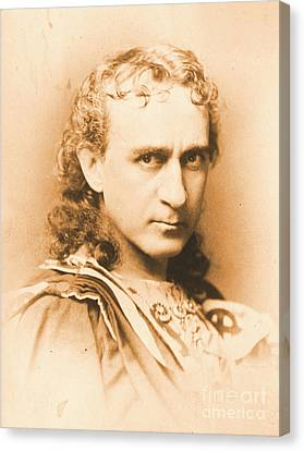 Actor Edwin Booth C1860 Canvas Print by Padre Art